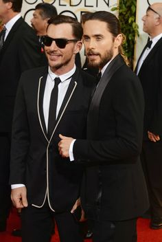 fuck-yeah-jared-leto:  HQ 71st Annual Golden Globe Awards, LA - 12th January 2014