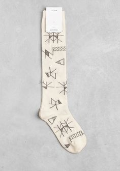 Alyson Fox knee socks.
