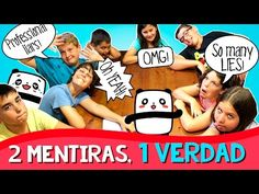 Reto 2 MENTIRAS 1 VERDAD * 2 LIES 1 TRUTH Challenge - YouTube