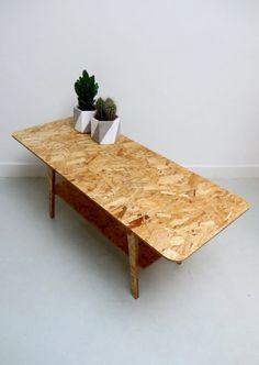 Garage Furniture, Plywood Furniture, Furniture Projects, Cool Furniture, Furniture Design, Deco Design, Wood Design, Osb Board, Particle Wood