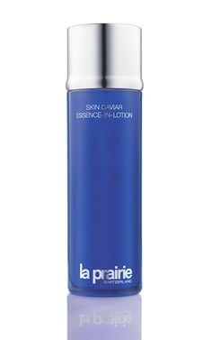 """Apparently caviar is not just a luxury for your plate. It's the new secret ingredient you need in your skincare routine! The La Prairie Skin Caviar Essence-in-Lotion, which contains """"caviar water"""" derived from a steam-distillation process, actually """"firms and lifts over time, minimizes the appearance of pores, and re-texturizes the skin,"""" according to Jacqueline Hill, La Prairie's director of strategic innovation and science."""