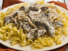 Classic Beef Stroganoff Basic ingredients, quick prep and great flavor—all reasons that this dish is a classic!