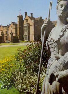 Charlecote Park, Warwickshire, England. Gardens by Capability Brown