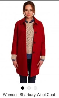 BNWT Joules Red Vintage 1950 s Wool Coat -size 12 rrp £199