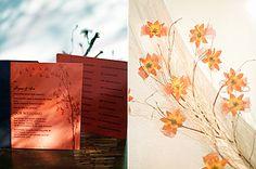 Fire Orange Wedding Invitation   http://brideandbreakfast.ph/2014/07/10/stylish-silliness/   Photographer: We Do It For Love