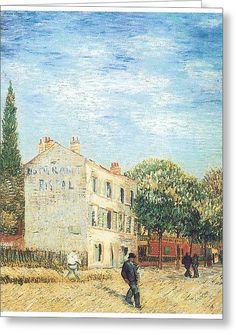 Restaurant Rispal at Asnieres by Vincent Van Gogh