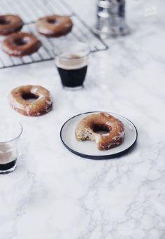 Glazed Doughnuts | milkingAlmonds