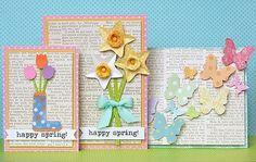 handmade cards spring