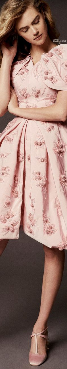 Zac Posen Spring 2018 RTW Floral Fashion, Pink Fashion, Womens Fashion, Fashion Design, Special Dresses, Everything Pink, Zac Posen, Beautiful Gowns, Dream Dress