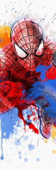 Spiderman - created by Manon Ghiurco for JAnovelty