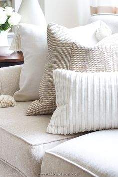 Neutral Pillows: They Don't Have to Be Boring!