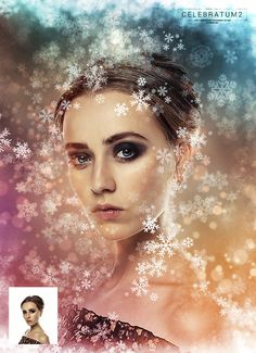 "Buy Christmas Snowflakes - Celebratum 2 - Photoshop Action by profactions on GraphicRiver. Celebratum 2 Video Tutorial Video tutorial includes: Demonstration of the action results in ""before/after"" format Ins. Christmas Snowflakes, Photo Effects, Photoshop Actions, Christmas And New Year, Background Patterns, Watercolor, Disney Princess, Image, Backgrounds"