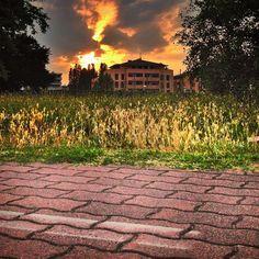 Cielo infuocato su Parma... | Flickr - Photo Sharing!