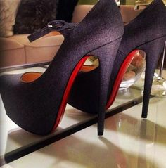 christian louboutin sparkle mary jane heels