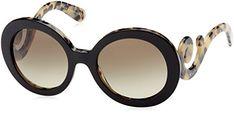 Prada gafas de sol 27NS ROK4M1 Black, 55