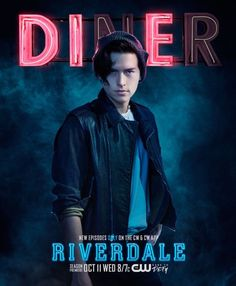 """Get This Special Offer Riverdale Cole Sprouse as Jughead Jones Promo Diner """"DIE"""" 8 x 10 Inch Photo Riverdale Tv Show, Riverdale Season 2, Watch Riverdale, Riverdale Archie, Riverdale Cast, Riverdale 2017, Archie Comics, Betty Cooper, The Cw"""