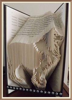 202. Dog Book Folding Pattern Collie