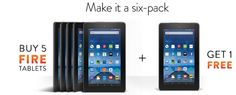 Conoce sobre Conoce Fire la tableta de Amazon de menos de $50 USD