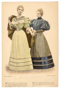 1893-1894, Plate 064 :: Costume Institute Fashion Plates