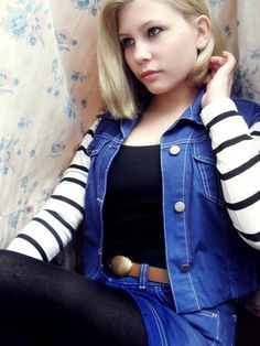 Dragon Ball Z - Android 18 (I do believe this is the perfect cosplay outfit for me :D)