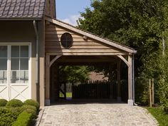 houtcreaties Eiken carport_Ontwerp Houtcreaties (13)  - Houtcreaties