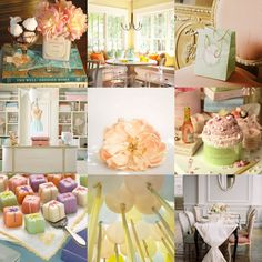 The French Tangerine: ~ summer pastels