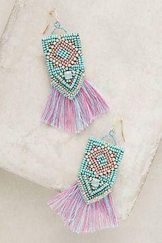 Bekah Fringed Earrings
