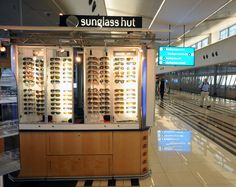 Sunglass Hut kiosk