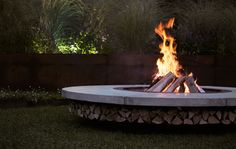 Fire pit out on the back terrace.....poolside.....gatherings.....yeah!