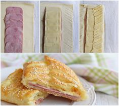 Lemon Brownies, Brunch Party, Winter Food, Baked Goods, Food To Make, Sandwiches, Dinner Recipes, Food And Drink, Snacks