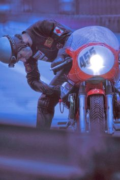Guzzi Bolide and the Racer