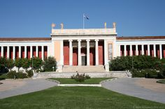 National Archaeology Museum, Athens, Greece - where you can see more ancient Greek art and sculptures than any where else in the world. Cyprus Greece, Athens Greece, Parthenon, Acropolis, Archaic Greece, Greece Honeymoon, Ancient Greek Art, 7 Continents, Greek Islands