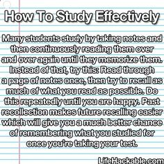 Who doesnt love or need a study hack