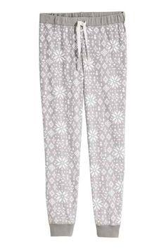 e7778fe7 Fleece pyjama bottoms Fleece Pajamas, Fleece Pants, Pyjamas, H&m Sale,  Sleepwear Women