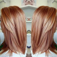 HAIR COLOR STRAWBERRY BLONDE 2017 - Styles Art
