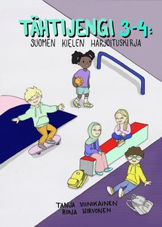 Tähtijengi 3-4 — Dialogikasvatus Learn Finnish, Speech Therapy, Grammar, Literature, Family Guy, Classroom, Teaching, Writing, Comics