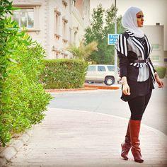 Hijab Style: Cantik dan Stylish Dalal Al Doub