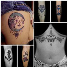 Trabalhos feitos na Powerhouse Tattoo