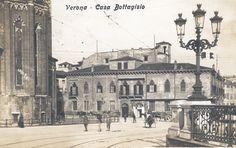 Verona - Casa Bottagisio dal Ponte Navi - 1912
