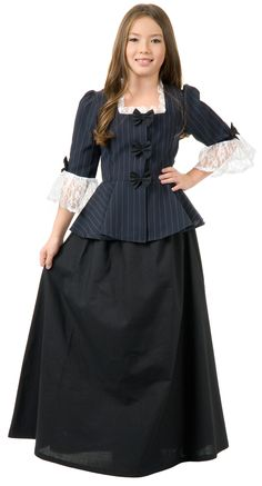 Colonial Girl Child Costume from BuyCostumes.com