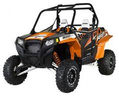 Pro Armor RZR XP 900Doors w/ 2012 Black/Orange Madness Graphics - UTV Gear