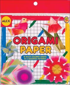 "Yasutomo Fold /'EMS Origami Paper Yuzen Red 10 Pack 5.875/"""