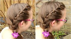Leer zelf een wikkel invlecht maken (geïnspireerd door Ashton Hairstyles)