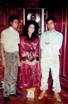 Michael and LaToya Jackson with...