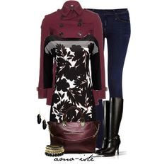 Floral for Fall, created by amo-iste on Polyvore