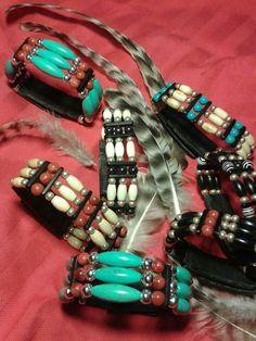 Armbänder im Choker-Stil  www.indianstyleshandmade.de