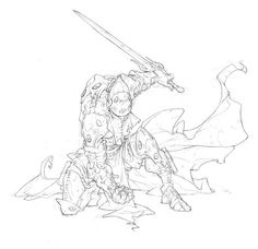 Rackham - The Art of Edouard Guiton Cool Sketches, Drawing Sketches, Cool Drawings, Character Concept, Character Art, Concept Art, Illustrator Tutorials, Art Tutorials, Conceptual Design