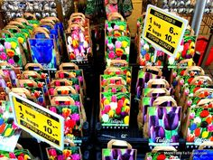 Bulbs at the Amsterdam flower market