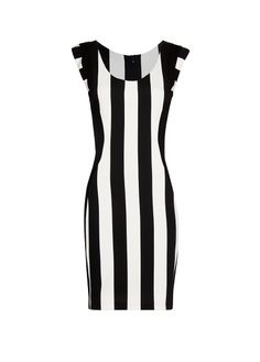 MANGO - Vertical stripes dress