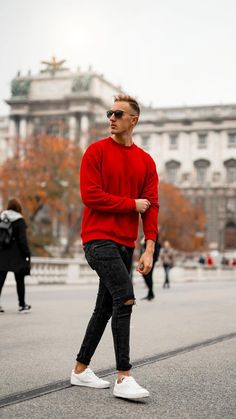 5 Casual Fall Outfits For Men - Mens Fashion - LIFESTYLE BY PS - 5 Casual Fall Outfits For Men Looking for some fresh casual outfits? Look no further. Try these amazing fall outfits to dress sharp this fall - Mens Fall Outfits, Stylish Mens Outfits, Casual Fall Outfits, Men Casual, Casual Blazer, Casual Winter, Casual Shirt, Summer Outfits, Casual Look For Men